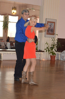 David & teacher Jan dancing Country 2-Step