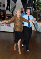 Gene & Anna dancing Waltz at Dance for the Cure 2014