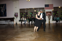 Alfred & Melanie dance Waltz at the March 2016 Special Spotlight NIght