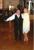 "Mitch & teacher Jan dancing Fox Trot at ""Dance for the Cure"" 2013"