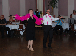 "David & Karen dancing Fox Trot at the ""Dance for the Cure"" 2014"