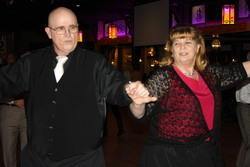 Mike & Carol McCall dancing at the WillowBrook Ballroom